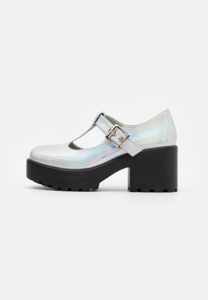 VEGAN - Klassiske pumps - silver