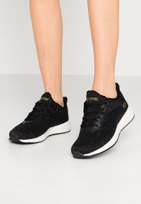 Skechers Sport - BOBS SQUAD - Sneakers laag - black/multicolor - 0