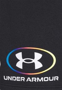 Under Armour - RIVAL LOCKERTAG SHORT - Sports shorts - black - 5