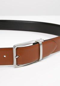Lloyd Men's Belts - Formální pásek - cognac/schwarz - 4