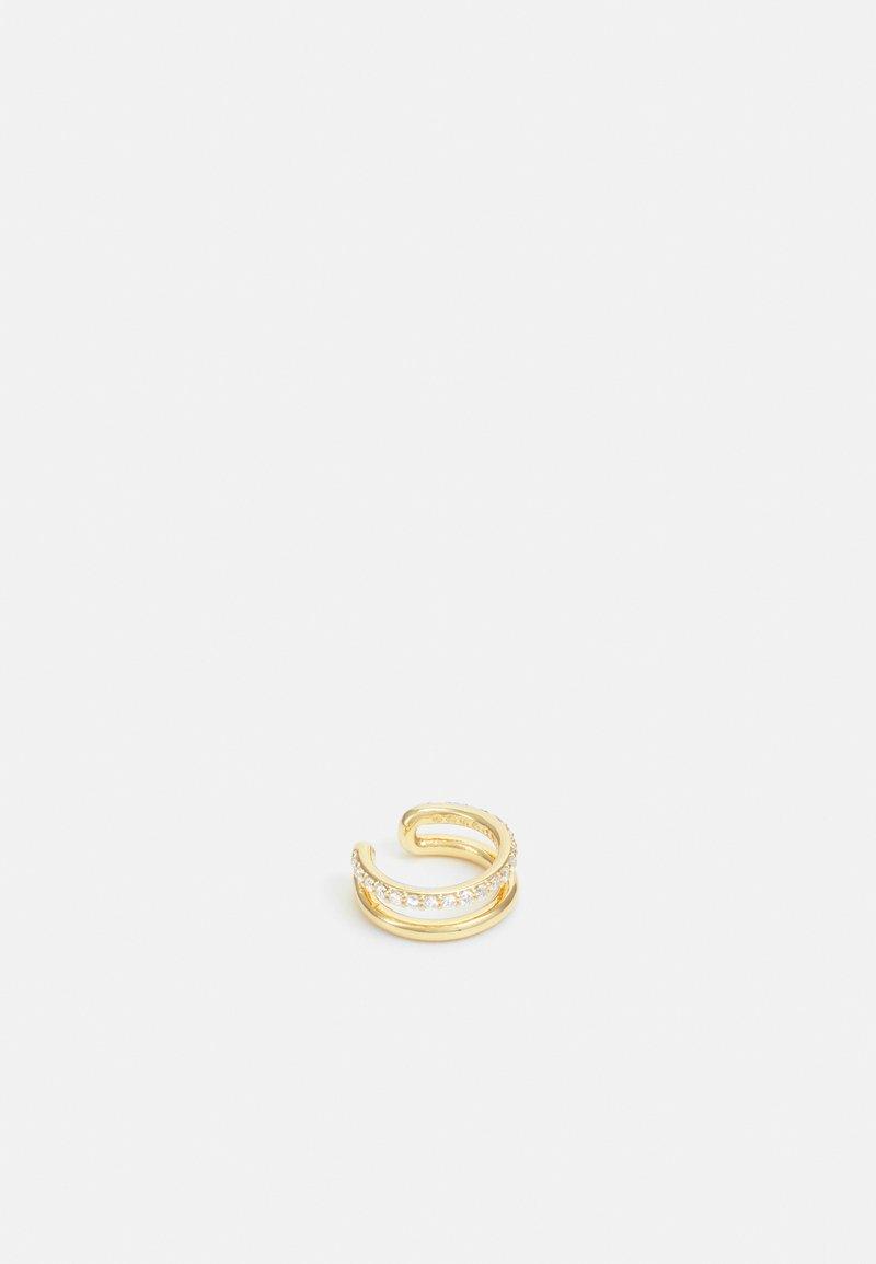 Orelia - PAVE 2 ROW EAR CUFF IN GIFTBOX - Earrings - gold-coloured