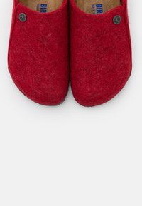 Birkenstock - ZERMATT RIVET - Slippers - red - 5