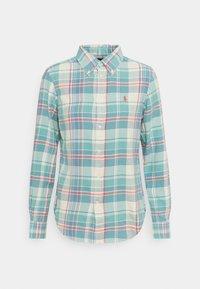 Polo Ralph Lauren - GEORGIA LONG SLEEVE - Skjorte - faded teal - 0
