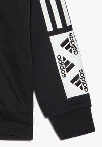 adidas Performance - Sweat à capuche zippé - black/white - 4
