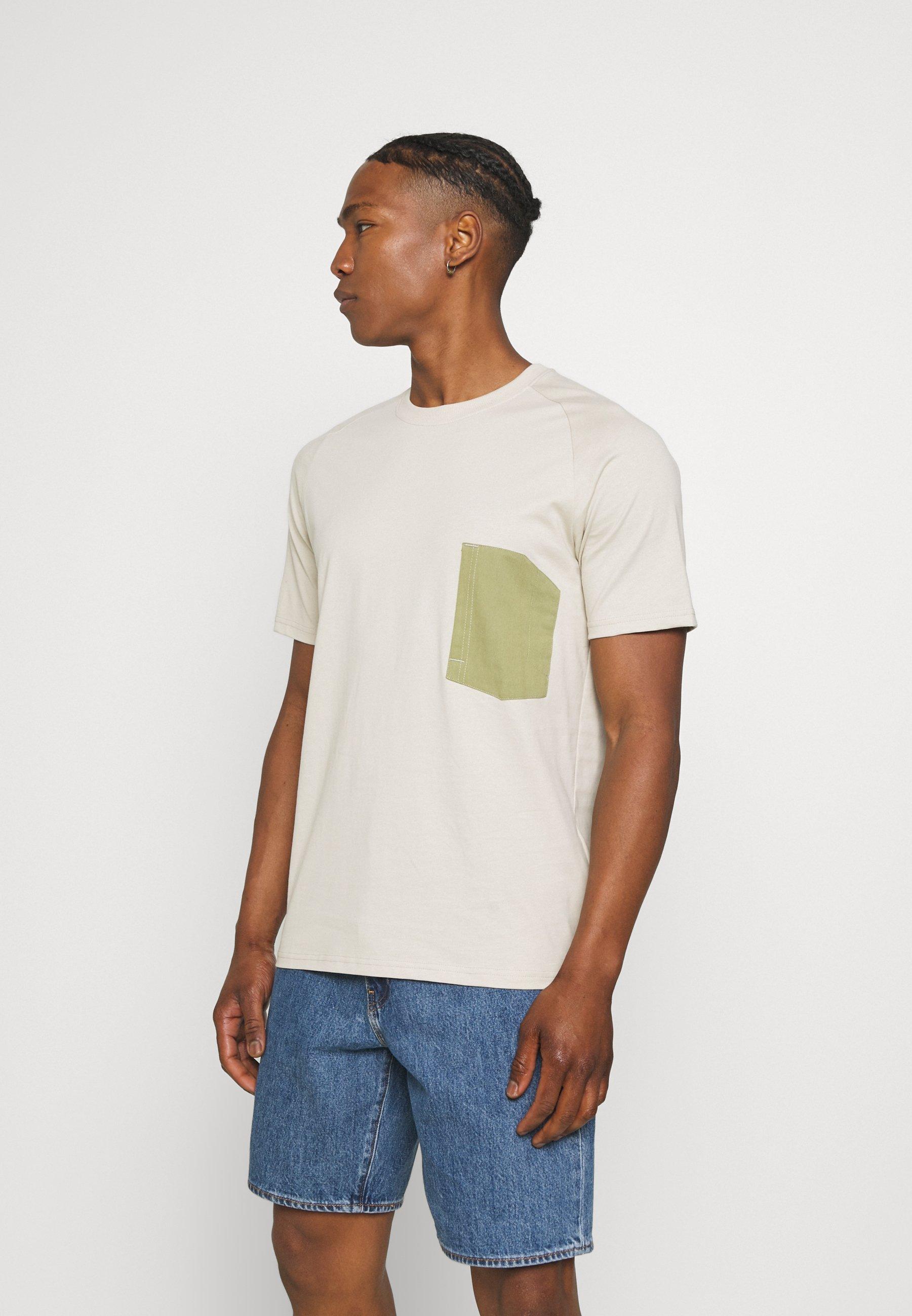 Men ONSPATRICK SADDLE RAGLAN TEE - Print T-shirt
