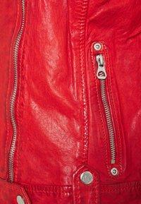 Gipsy - Kožená bunda - rot - 2