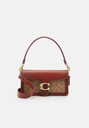 SIGNATURE WITH BEADCHAIN TABBY SHOULDER BAG  - Kabelka - tan/rust