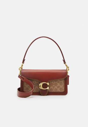SIGNATURE WITH BEADCHAIN TABBY SHOULDER BAG