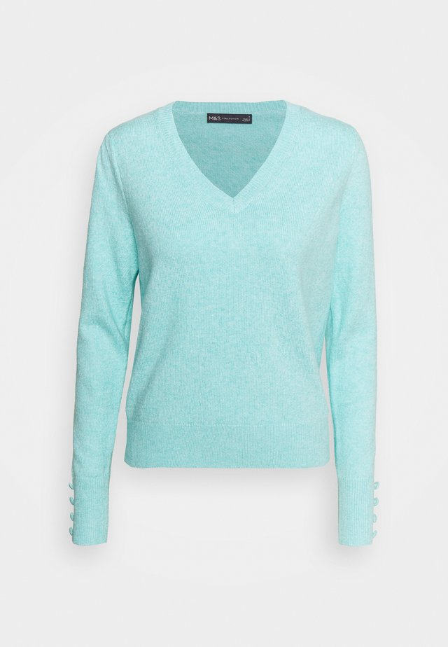 VEE JUMPER - Maglione - turquoise