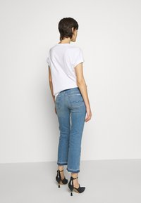 7 for all mankind - CROPPED UNROLLED - Džíny Bootcut - light blue - 2