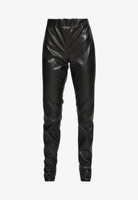 VEGAN PANTS - Spodnie materiałowe - black