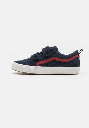 ALONISSO BOY - Trainers - navy/red