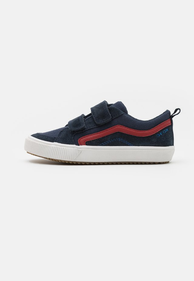 ALONISSO BOY - Sneakers laag - navy/red