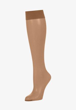 Knee high socks - honey