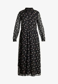 ONLY - ONLTHEA HIGHNECK DRESS - Shirt dress - black - 5