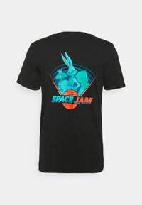 Redefined Rebel - LACHLAN TEE - Print T-shirt - black - 1