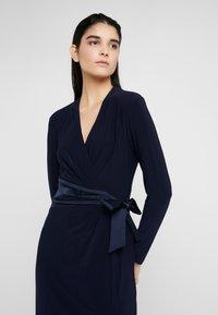 Lauren Ralph Lauren - MID WEIGHT DRESS COMBO - Robe en jersey - lighthouse navy - 3