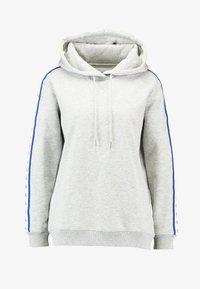 Calvin Klein Jeans - MONOGRAM TAPE HOODIE - Hoodie - light grey heather - 3
