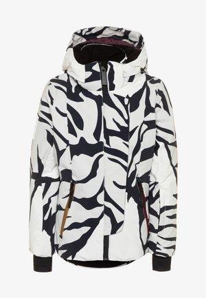 PEARSON - Ski jacket - white/black