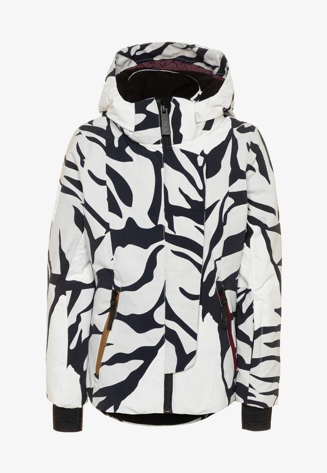 PEARSON - Skijakke - white/black