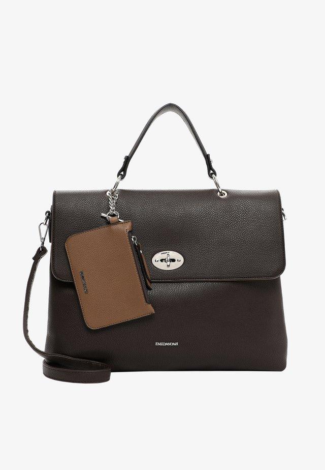 DORA - Käsilaukku - brown/taupe 209
