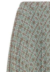 HALLHUBER - À IMPRIMÉ CHAÎNES - A-line skirt - multicolore - 4
