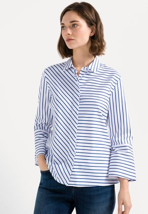 DAY  - Button-down blouse - white/blue