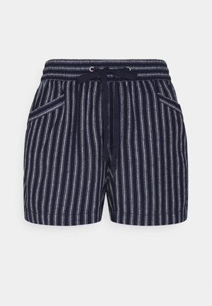 Shorts - bold navy stripe