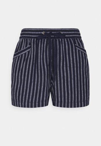 Shorts - bold navy stripe