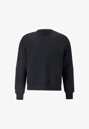 SHAPES BUBBLE CREW UNISEX - Sweatshirt - black