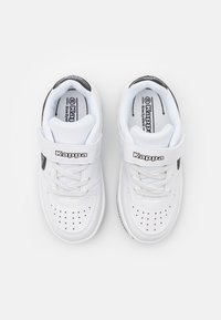 Kappa - UNISEX - Sports shoes - white/black - 3