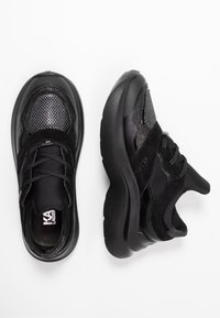KARL LAGERFELD - SKYLINE DELTA LO LACE MIX - Trainers - black - 3