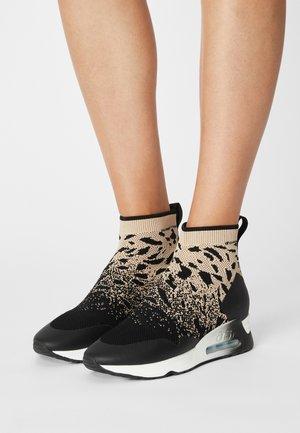 LADY - High-top trainers - black/eggnug