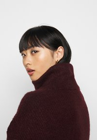 New Look Petite - FASH SLOUCHY ROLL NECK - Svetr - dark burgundy - 3