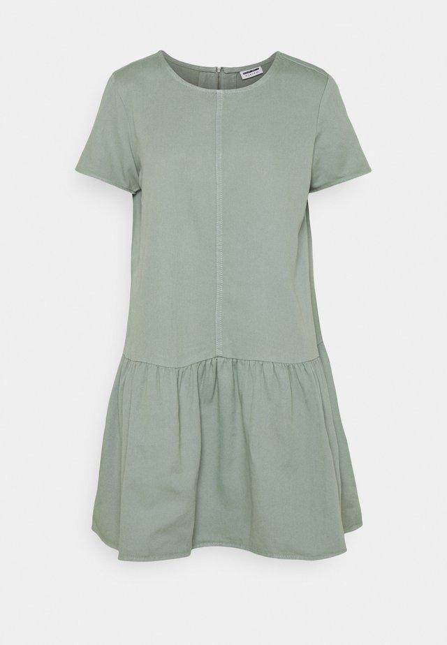 NMEMILIA  - Korte jurk - slate gray
