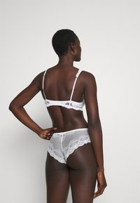 Cotton On Body - CINDY BOYLEG 3 PACK - Pants - greystone blue/cream/icy moondrop - 2