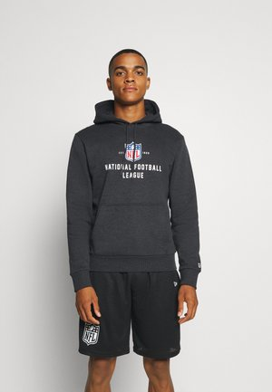 NFL LEAGUE ESTABLISHED HOODY - Huvtröja med dragkedja - black