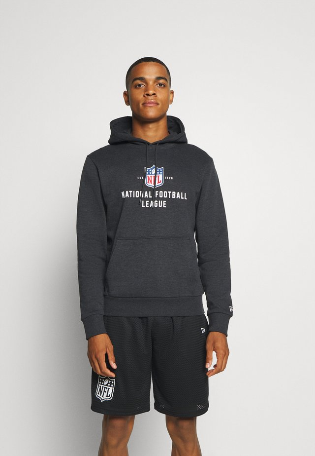 NFL LEAGUE ESTABLISHED HOODY - veste en sweat zippée - black