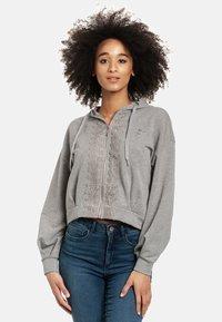Vive Maria - Zip-up sweatshirt - grau meliert - 3