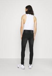 Newport Bay Sailing Club - SLIM LEG - Jeans slim fit - washed black - 2