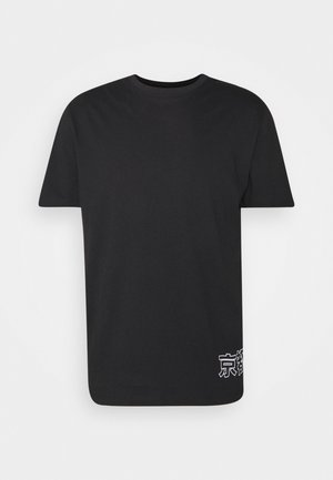 ONSAKI LIFE TEE - T-shirt med print - black