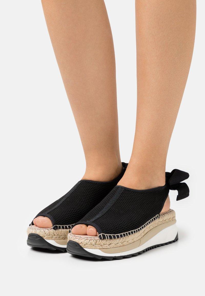Gaimo - VILLA - Platform sandals - black