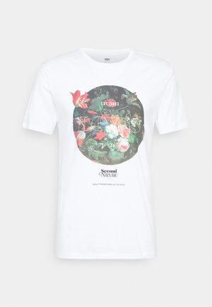 GRAPHIC CREWNECK TEE UNISEX - T-shirt print - neutrals