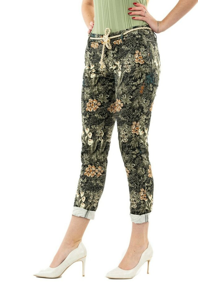 Trousers - vert