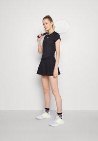 adidas Performance - MATCH SKIRT - Sports skirt - black/white - 1