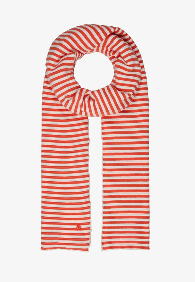 STRUCTURE STRIPED - Scarf - multi/red