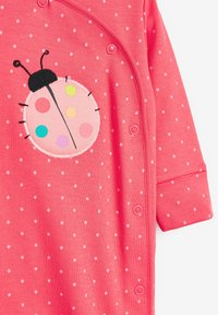 Next - 3 PACK LADYBIRD STRIPE - Sleep suit - pink - 5