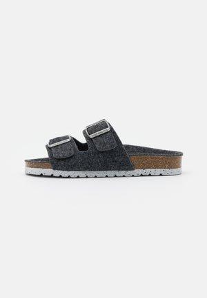 VMCOZY  - Domácí obuv - dark grey melange