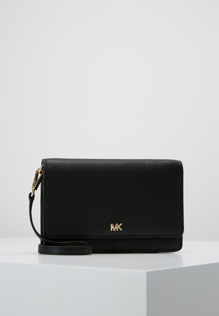 MICHAEL Michael Kors - MOTTPHONE CROSSBODY - Across body bag - black