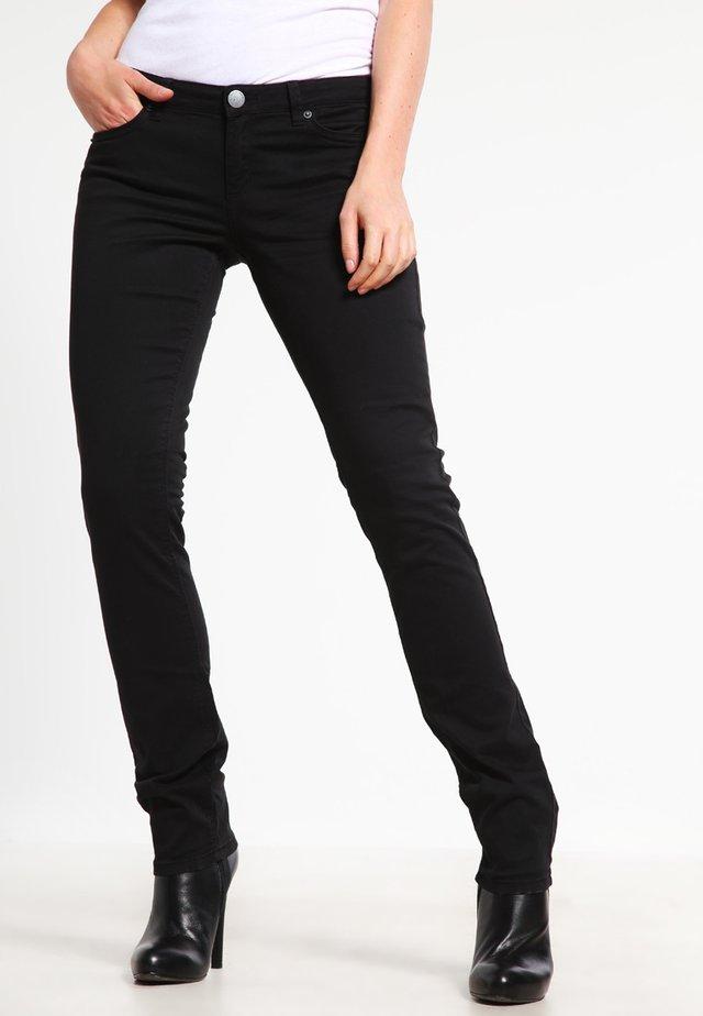 CATIE SLIM - Slim fit jeans - black